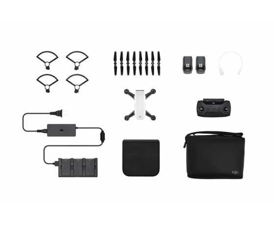 Mini-drona cu tehnologie 12MP DJI SPARK Fly More Combo