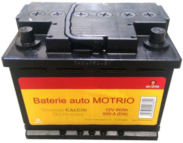 Baterie auto MOTRIO 6001998867 12V 60AH 510A