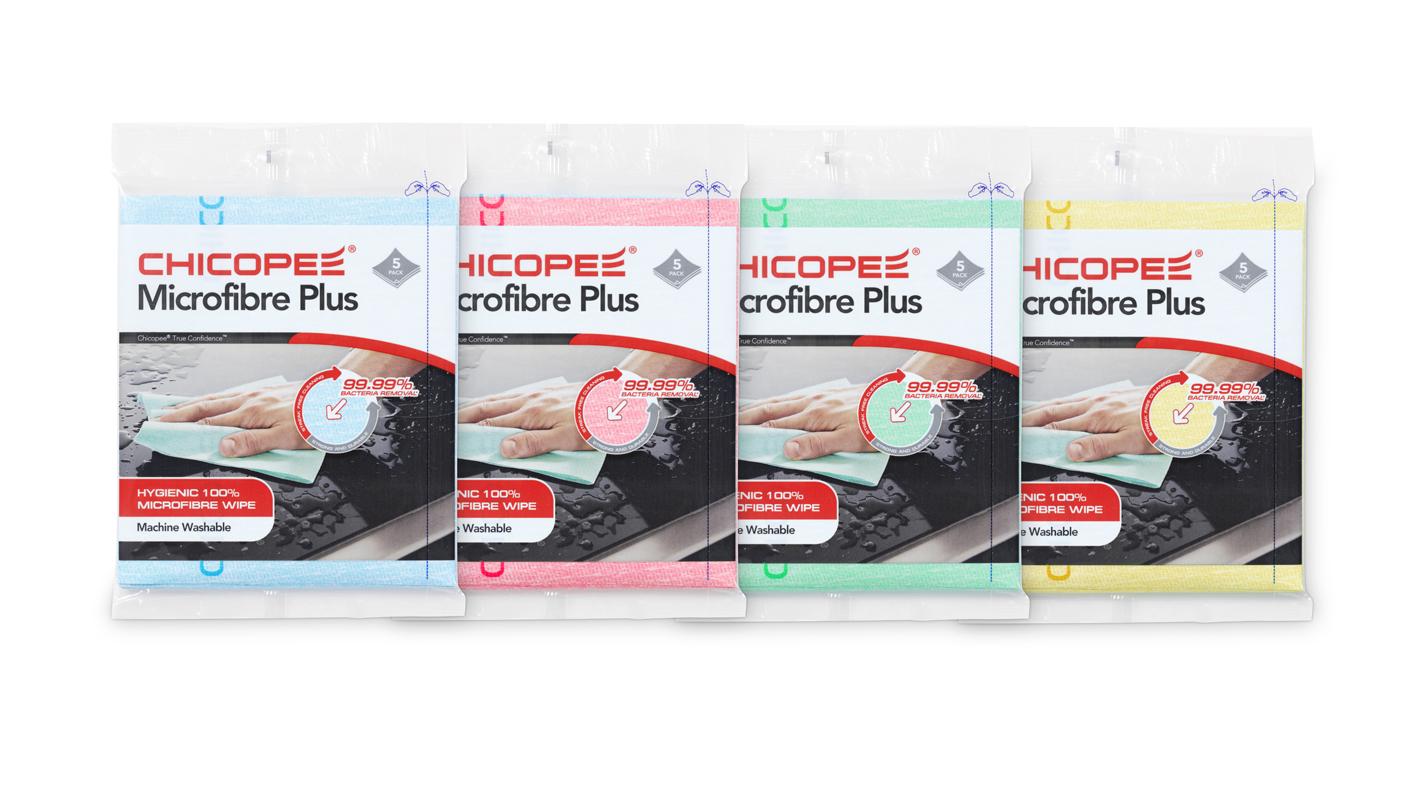 Set 5 lavete microfibra HERZKRAFT HK7472100 34X40CM