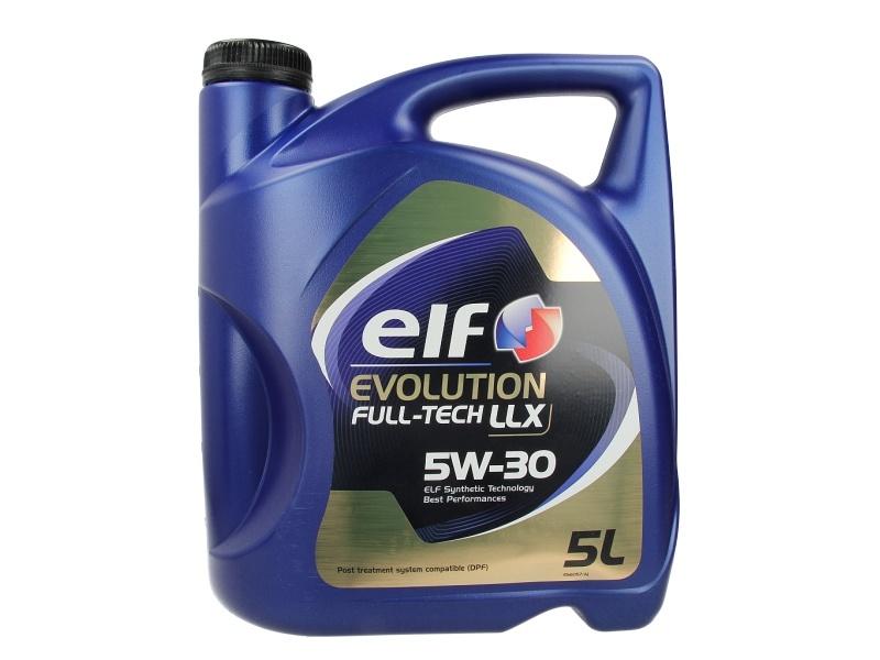 ULEI MOTOR ELF EVOLUTION FULLTECH LLX 5W30 5L