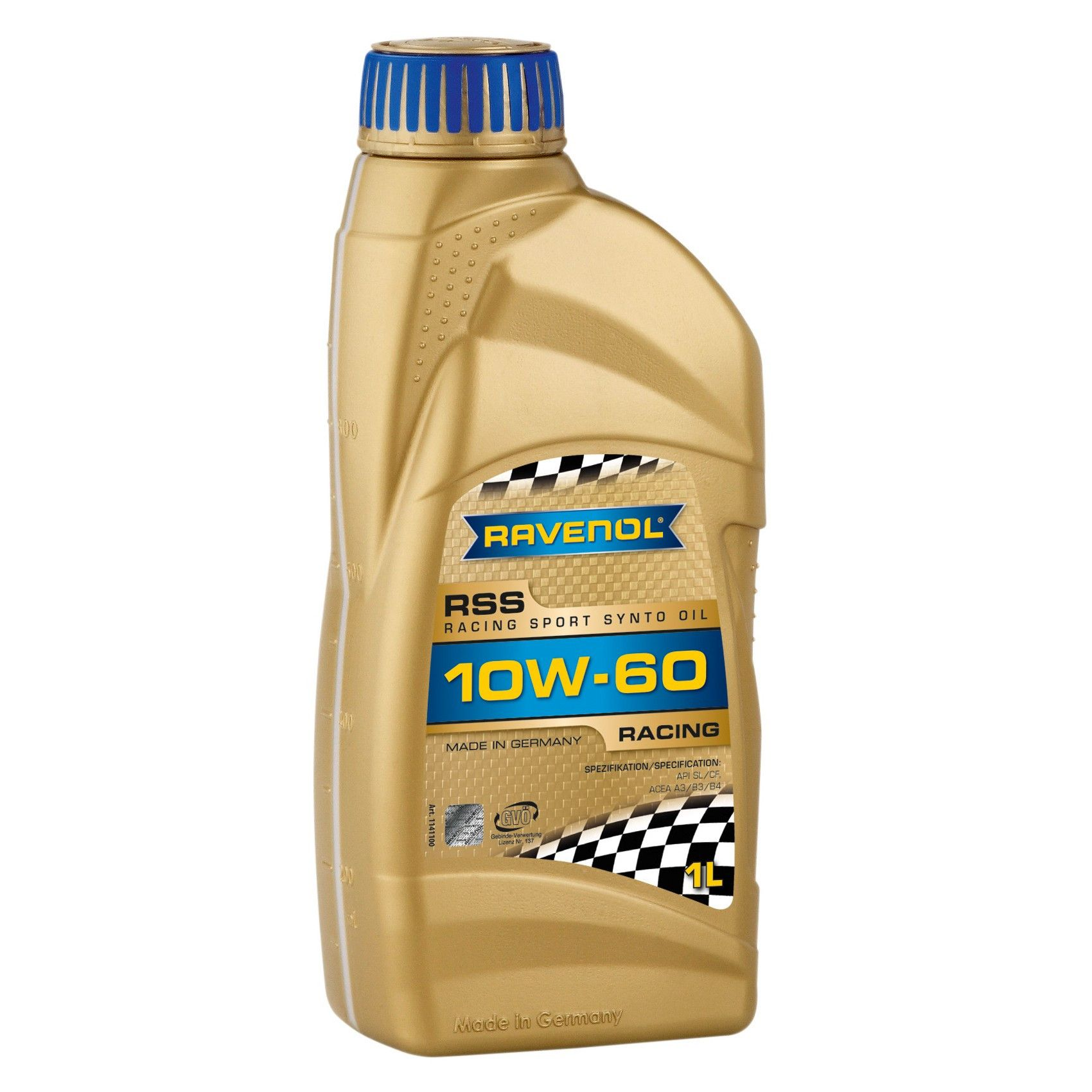 ULEI MOTOR RAVENOL 1141100 RSS Racing Sport Synto 10W60 1L