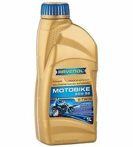ULEI MOTOR MOTOCICLETA RAVENOL 1171105 Motobike Vtwin Fullsynthetic 20W50 1L