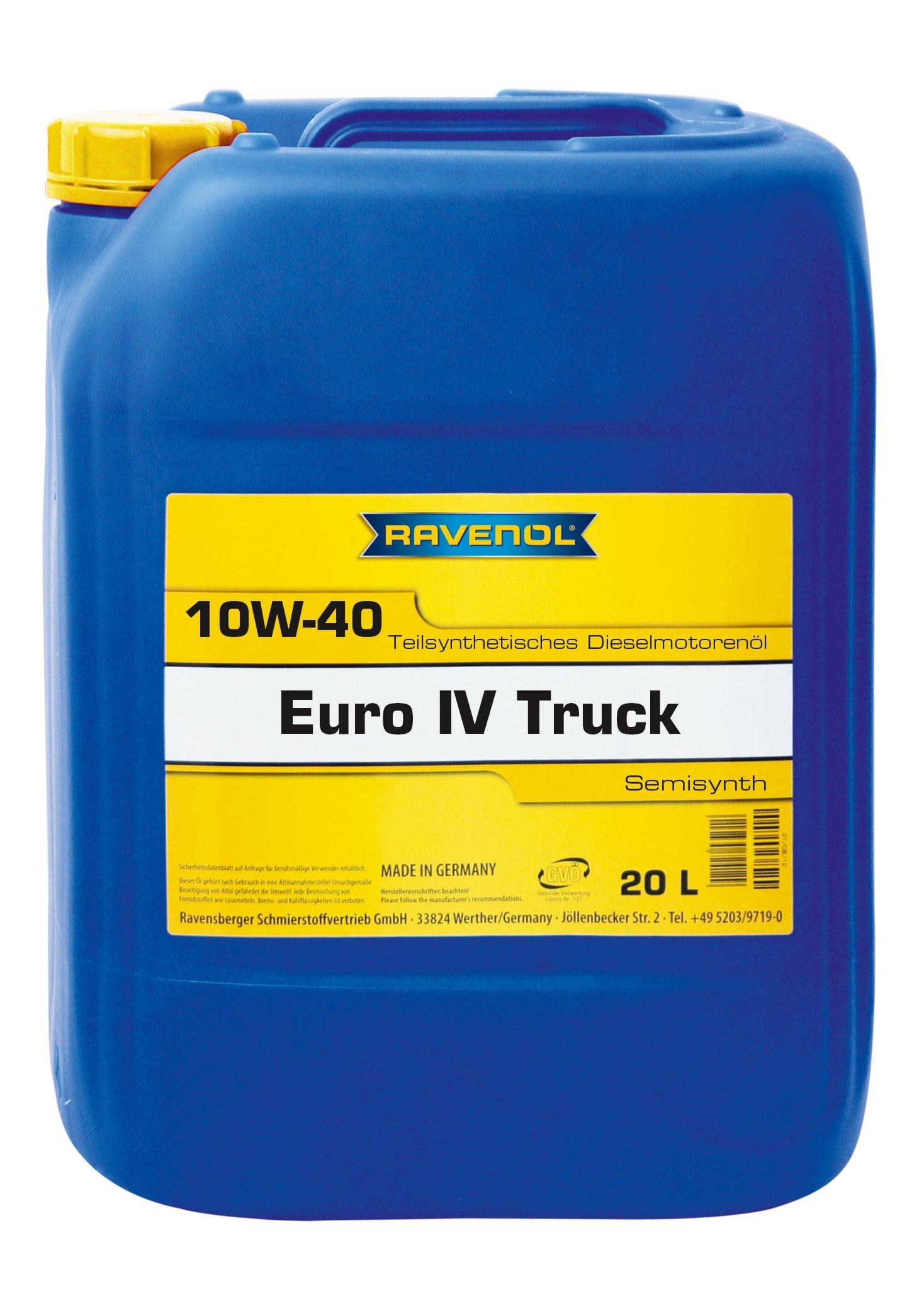 ULEI MOTOR RAVENOL 1122107 EURO IV Truck E6, E7 10W40 20L
