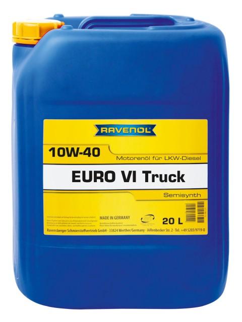 ULEI MOTOR RAVENOL 1122108 EURO VI Truck  LOW SAPS E9 10W40 20L