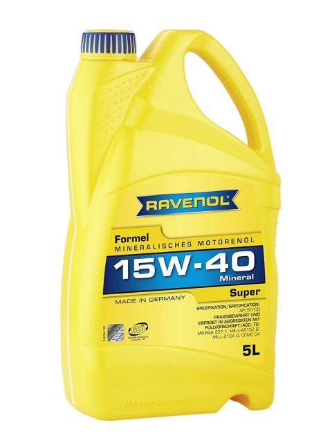 ULEI MOTOR RAVENOL 1123215 Formel Diesel Super E2, B3, B5 15W40 5L