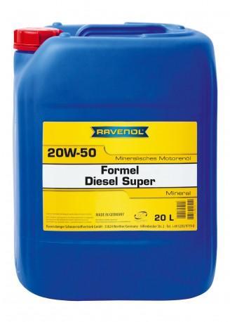 ULEI MOTOR RAVENOL 1123220 Formel Diesel Super E2, B3, B5 20W50 20L