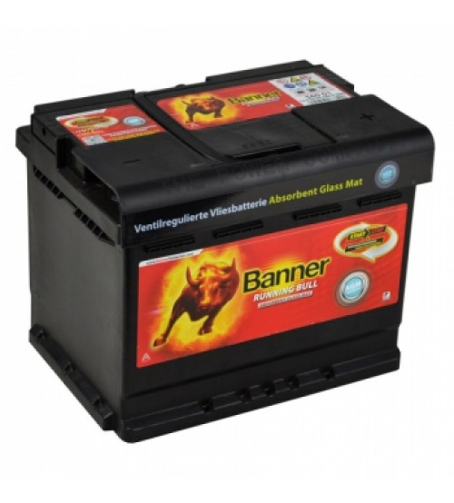 Baterie auto BANNER 56001 RUNNING BULL AGM 12V 60AH, 640A