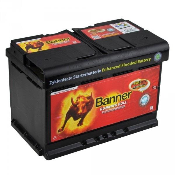 Baterie auto BANNER 57001 RUNNING BULL 12V 70AH, 720A