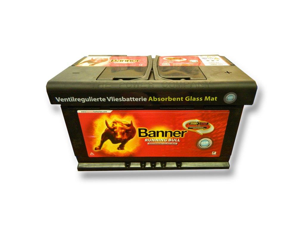 Baterie auto BANNER 58001 RUNNING BULL 12V 80AH, 800A