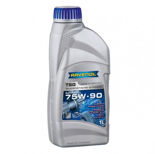 Ulei pentru cutie viteze manuala RAVENOL 1222105 TGO Teilsynthetisches  GL 5 75W90 1L