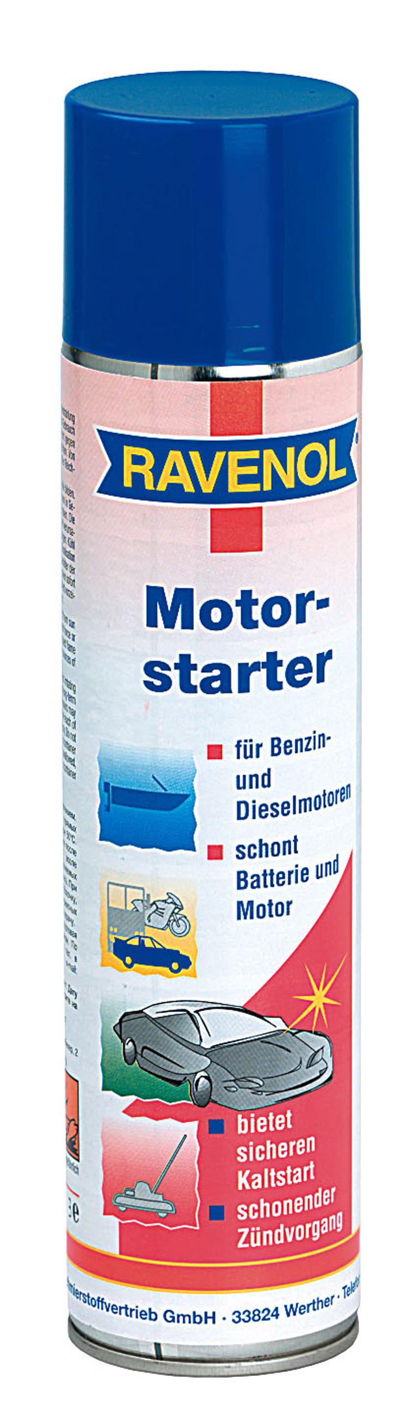 Motor Starter Spray RAVENOL 1360034 0.4L