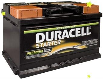 Baterie auto DURACELL Starter Kamina DS95 12V 95AH 720A
