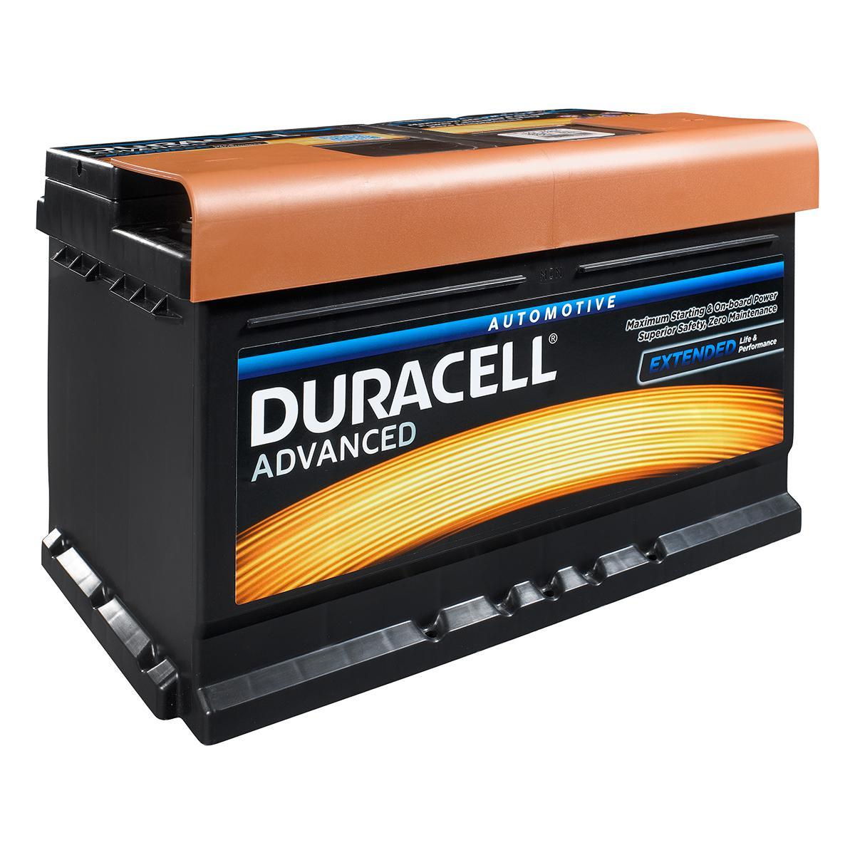 Baterie auto DURACELL Advanced DA72 12V 72AH 660A