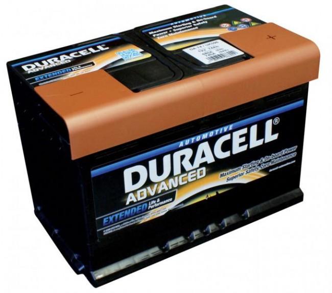 Baterie auto DURACELL Advanced  DA77H 12V 77AH 700A