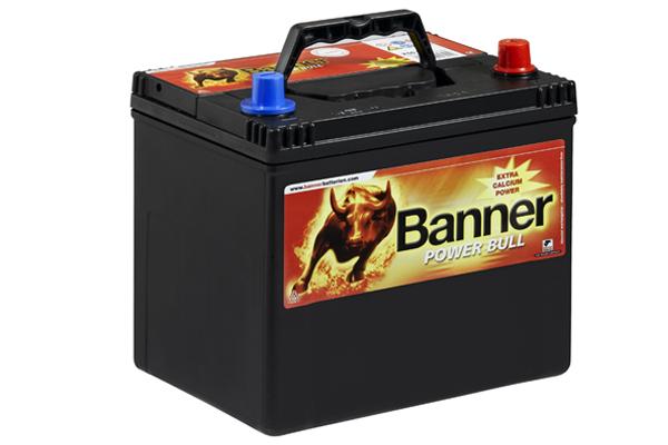 Baterie auto BANNER P60 68 POWER BULL 12V 60AH, 510A