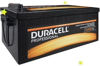 Baterie auto DURACELL Professional SHD DP180SHD 12V 180AH 1000A