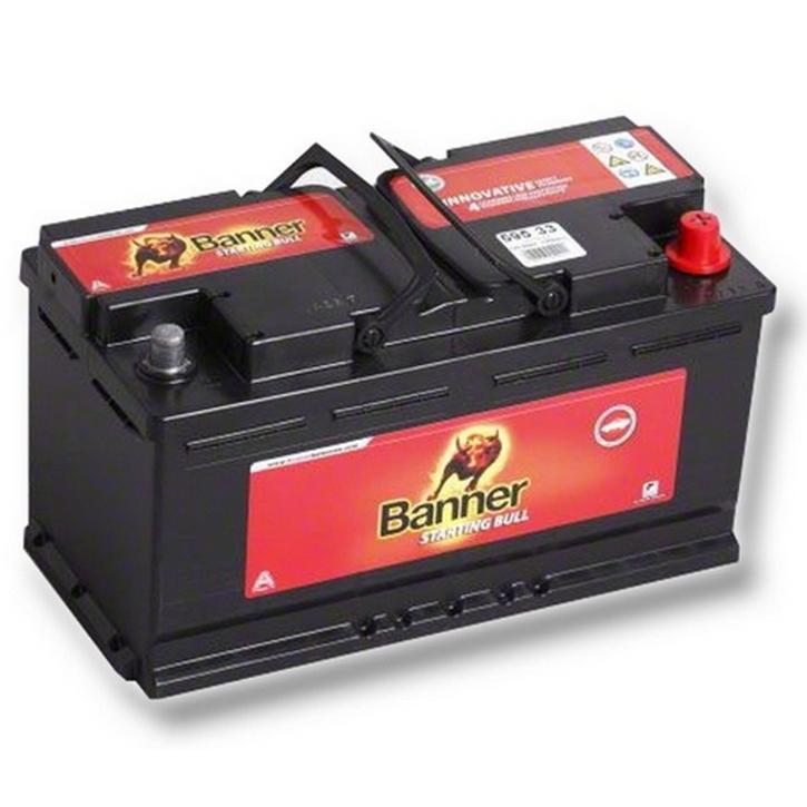 Baterie auto BANNER 595 33 STARTING BULL 12V 95AH, 740A