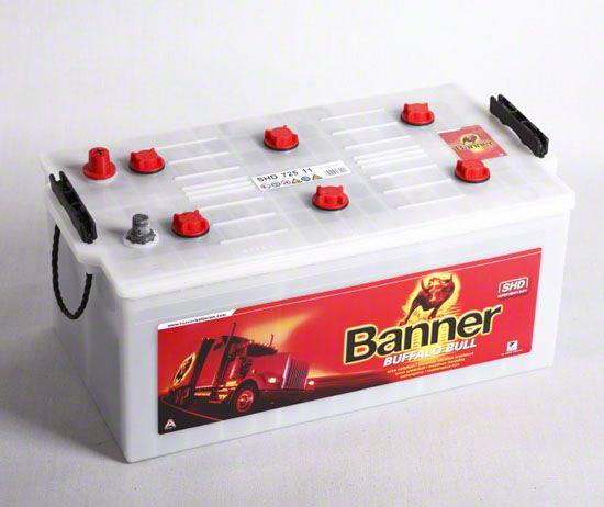 Baterie auto BANNER 725 11 BUFFALO BULL 12V 225AH, 1050A