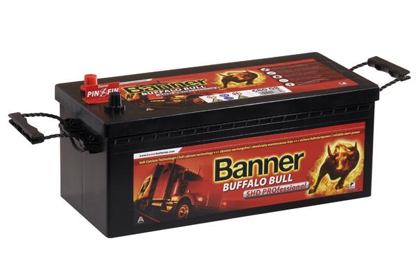 Baterie auto BANNER 680 08 BUFFALO BULL SHD PROFESSIONAL 12V 180AH, 1000A