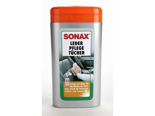Set lavete suprafete piele SONAX SO412300 25 BUC