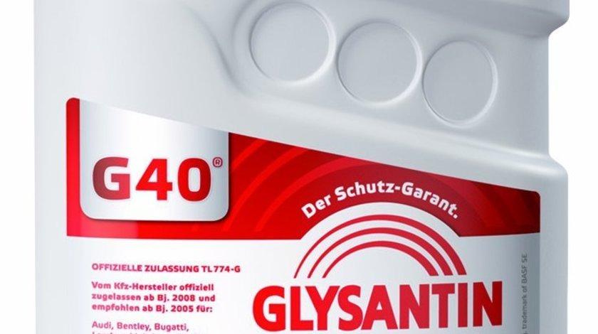 Antigel fara silicati GLYSANTIN G12-G40 Rosu-Violet 60L