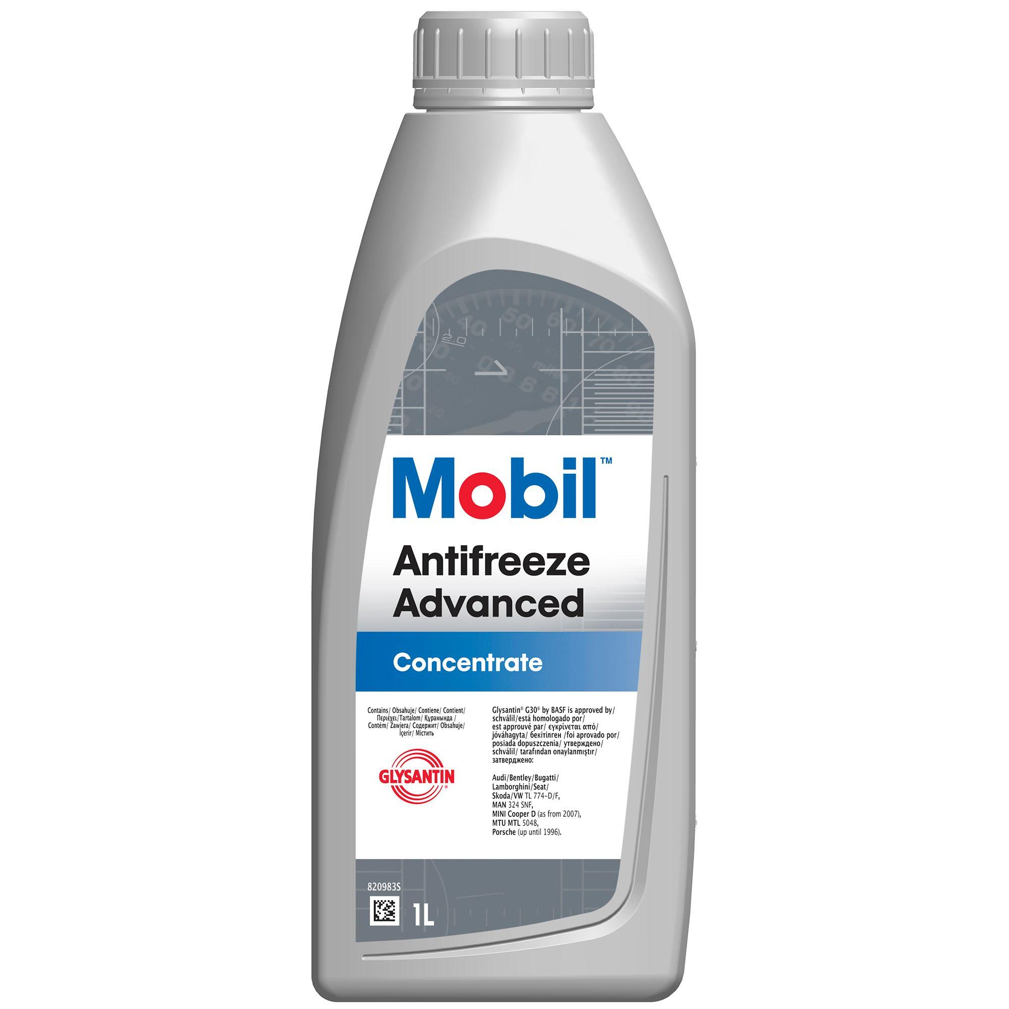 Antigel concentrat MOBIL Antifreeze ADVANCED G12+ Rosu-Violet 1L