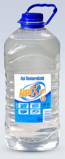 Apa demineralizata ROMTEC AQUAXPERT 4L