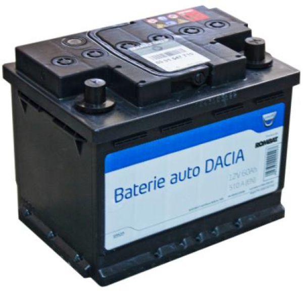 Baterie auto DACIA 12V 60AH 510A