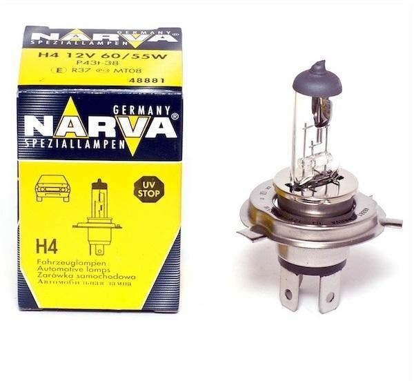 Bec auto NARVA 48881N STANDARD H4 12V 55W
