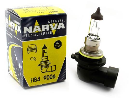 Bec auto NARVA 48006N STANDARD HB4 12V 55W