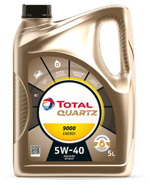 ULEI MOTOR TOTAL QUARTZ 9000 ENERGY 5W40 5L