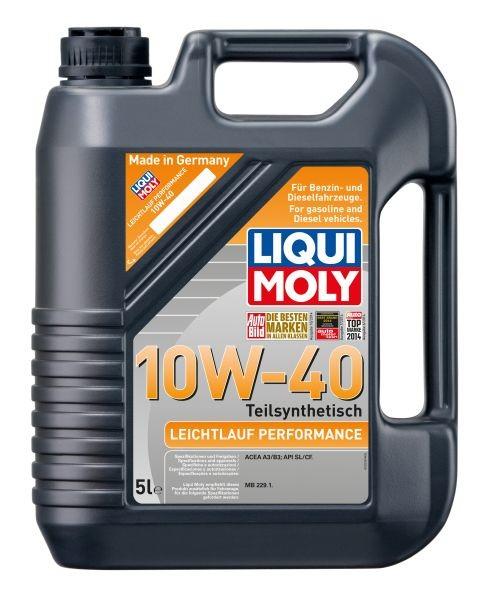 ULEI MOTOR LIQUI MOLY 2536 LEICHTLAUF PERFORMANCE 10W40 5L