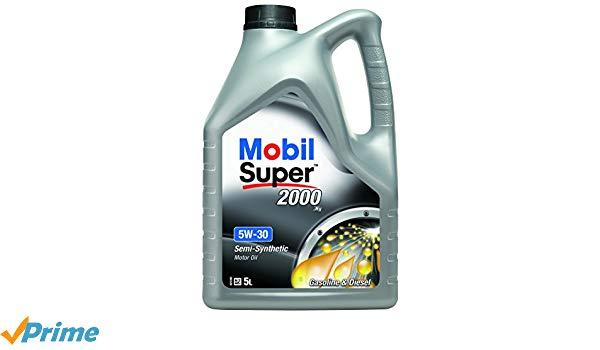Ulei motor MOBIL 153536 Super 2000 5W30 5L
