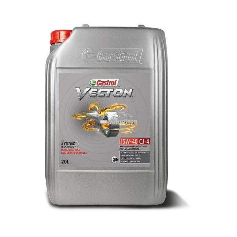 Ulei motor CASTROL Vecton Fuel Saver E7 5W30 20L