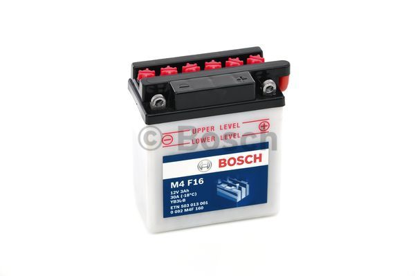 Baterie moto BOSCH 0092M4F160 M4 Fresh Pack 12V 3AH 30A