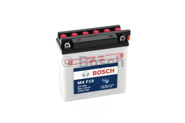 Baterie moto BOSCH 0092M4F190 M4 Fresh Pack 12V 6AH 55A