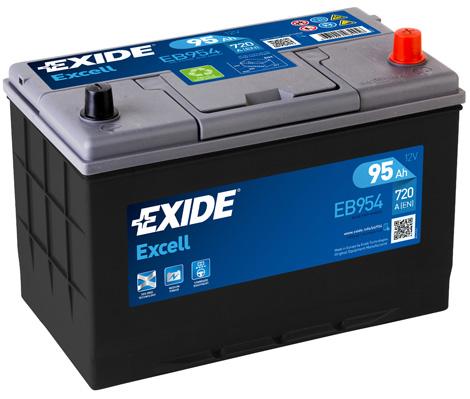 Baterie auto EXIDE EB954 EXCELL 12V 95AH 760A