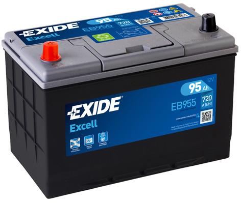 Baterie auto EXIDE EB955 EXCELL 12V 95AH 720A