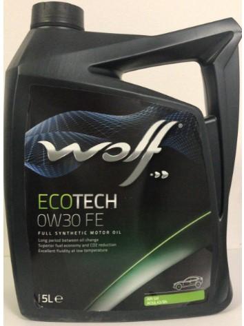 ULEI MOTOR WOLF ECOTECH FE 0W30 5L
