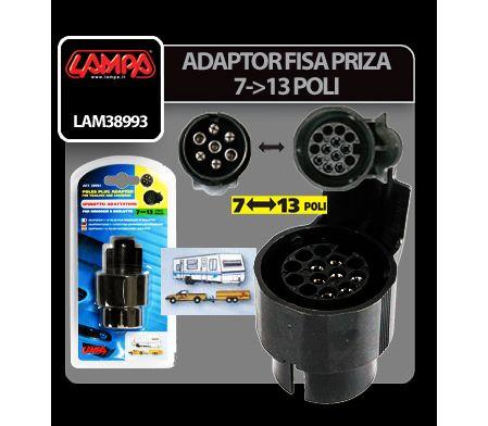 ADAPTOR FISA PRIZA REMORCA LAMPA LAM38993 7-13 POLI
