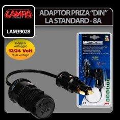 ADAPTOR PRIZA DE ALIMENTARE LAMPA LAM39028 12/24V