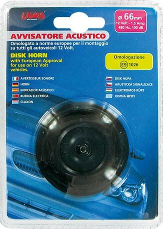 CLAXON LAMPA LAM42010 1.5A 430Hz 100dB 12V