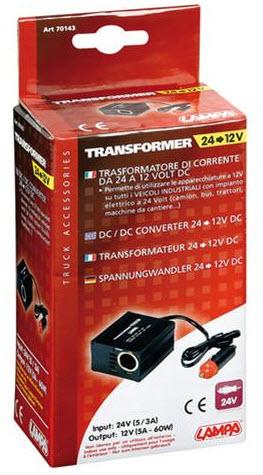 CONVERTOR 24-12V LAMPA LAM70143 80CM