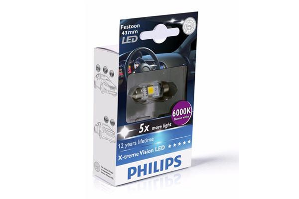 BEC AUTO LED PHILIPS 12946 1LED SV8.5 12V 1W