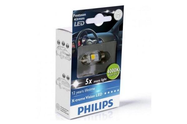 BEC AUTO LED PHILIPS 12945 1LED SV8.5 12V 1W