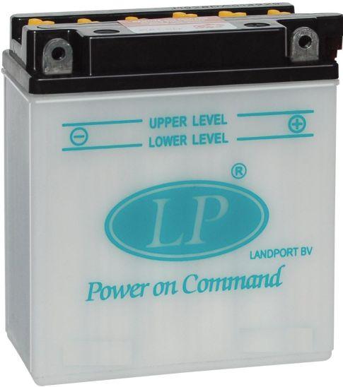 Baterie motocicleta LANDPORT LP 12N55-3B POWER ON COMMAND 12V 5.5AH 90A