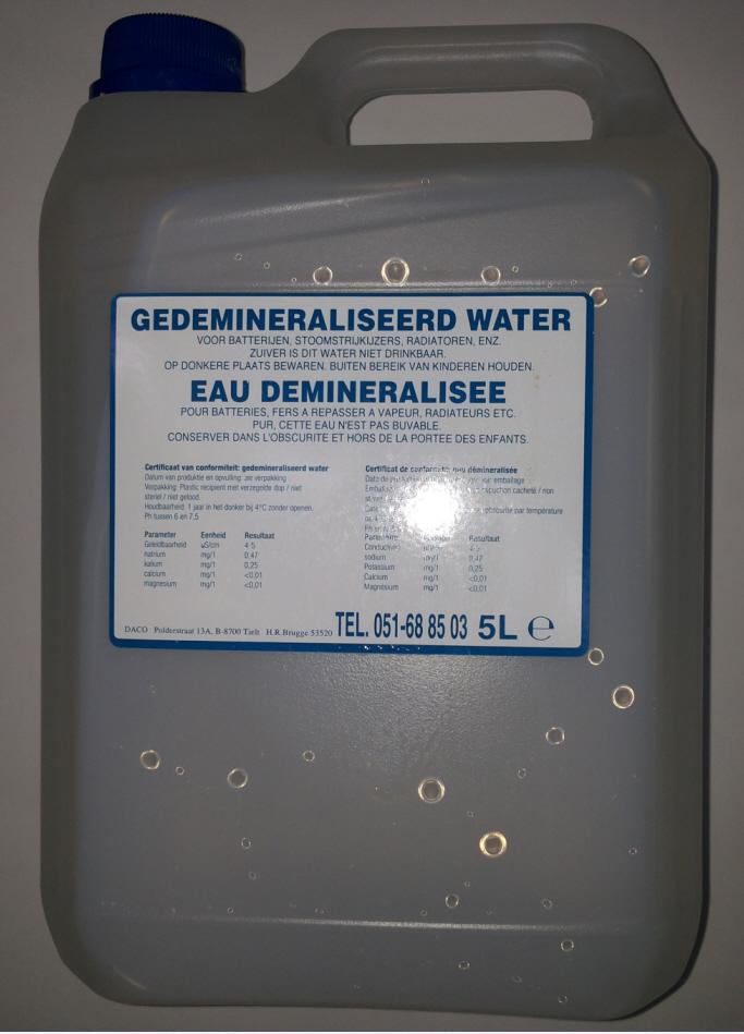 Apa distilata LANDPORT LP BALV WATER5 5L