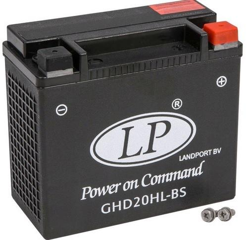 Baterie motocicleta LANDPORT LP GHD20HL-BS GEL POWER ON COMMAND 12V 19AH