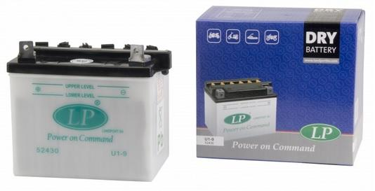 Baterie motocicleta LANDPORT LP U1-9 DRY POWER ON COMMAND 12V 24W