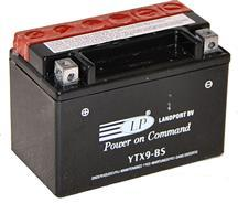 Baterie motocicleta LANDPORT LP YTX9-BS AGM POWER ON COMMAND 12V 8AH